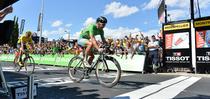 Peter Sagan castiga etapa in fata lui Chris Froome