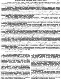 Decizia faliment Forte Asigurari