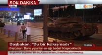 tanc pe strazile in Istanbul