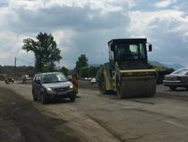 DN76 Deva - Oradea, in lucru