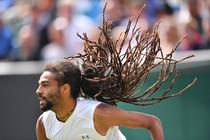 Dustin Brown, la Wimbledon