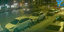 Un tanc trece peste un barbat, in Istanbul