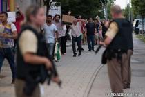 Politia germana pe strazi
