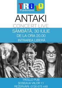Afis concert Antaki