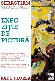 Expozitie semnata Radu Florea