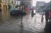 Sighisoara inundata
