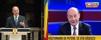Traian Basescu, atunci si acum