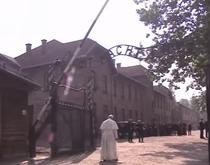 Papa Francisc la Auschwitz