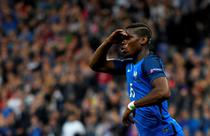 Paul Pogba, in tricoul Frantei