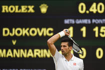 Novak Djokovic, la Wimbledon 2016