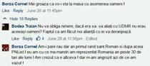 Discutie Borza Cornel - Bodea Traian