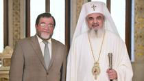 Ambasadorul rus Oleg Malghinov, primit de Patriarhul Daniel