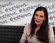 Clotilde Armand in studioul Hotnews