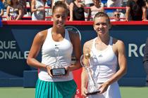 Simona Halep si Madison Keys, dupa finala de la Montreal