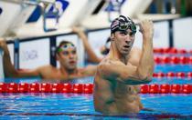 Michael Phelps, dupa proba de 200 de metri fluture