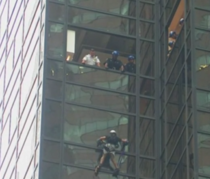 S-a catarat pe Trump Tower