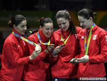 Romania, campioana olimpica la spada feminin