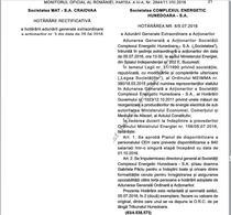 Decizia concedierilor de la Complexul Energetic Hunedoara