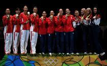 Romania, campioana in proba de spada pe echipe, JO 2016