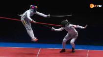 Ana-Maria Popescu, punct superb in finala olimpica de spada