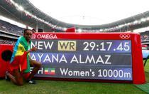 Almaz Ayana, record mondial in proba de 1000 de metri