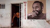 Fidel Castro implineste 90 de ani