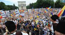 Manifestatie a platformei unioniste Actiunea 2012