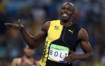 Usain Bolt, fara rival in cursa de 100 de metri