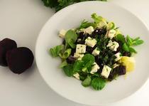 Salata de sfecla si telemea