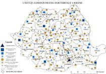 Harta - Unitati teritoriale Urbane