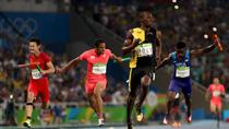 Usain Bolt, in proba de 4x100 m