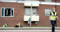 Grenada aruncata intr-un apartament din Suedia