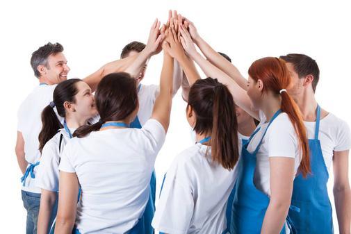 Echipa de curatenie