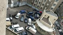 Exercitiu antitero in curtea Politiei Capitalei