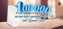 100.000 de romani se bucura de Connect Box