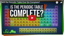 Va fi tabelul periodic vreodata complet?