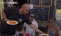 Italieni mancand paste allamatriciana