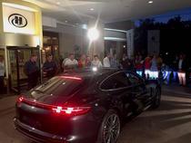 Porsche Panamera Turbo la Hilton Sibiu