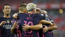 Barcelona, victoria la limita pe San Mames