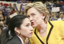 Huma Abedin si Hillary Clinton