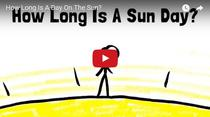 Cat de lunga este o zi pe astrul solar