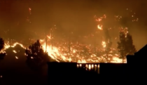 Incendiu masiv in La Palma