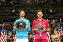 Novak Djokovic si Stan Wawrinka, finalisti la US Open