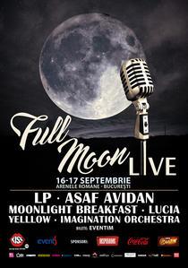 Poster Full Moon Live 2016
