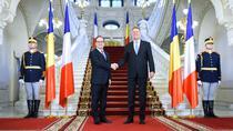 Hollande, primit la Cotroceni de Iohannis