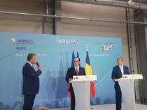 Francois Hollande si Dacian Ciolos, la Ghimbav