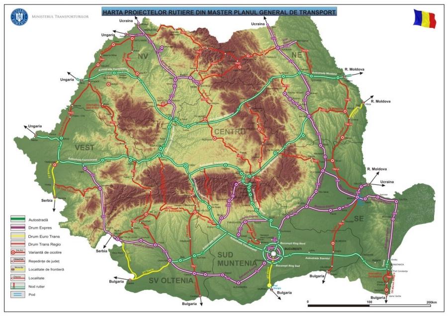 Ro Romania Road Infrastructure Autostrăzi Si Drumuri Page
