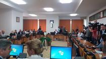 Imagini din timpul audierii de miercuri a sefului ASF