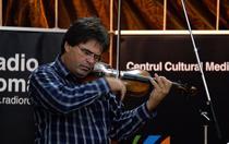 Gabriel Croitoru cu Vioara lui Enescu- Foto Virgil Oprina