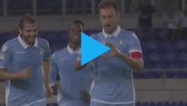 Radu Stefan, gol pentru Lazio